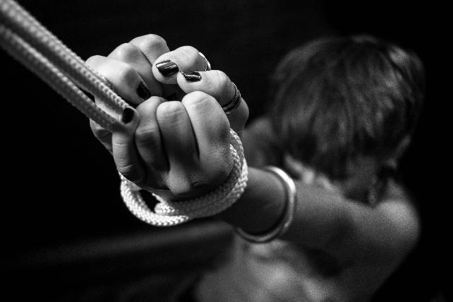 BDSM Girl in bondage