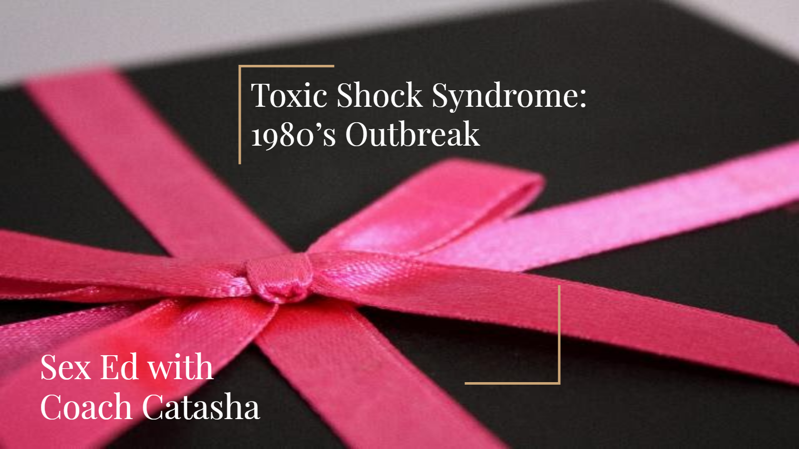TSS - The 1980's Outbreak picture on intro slide